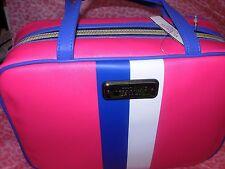 Victoria's Secret Reisebox Kosmetik Tasche m. / Kleine Duo Neu! Blau/Pink/Weiß