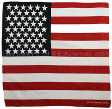 America American USA United States Flag Bandana Souvenir Team Head Wrap Bandanna