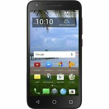 Alcatel Raven LTE 16GB TracFone A574BL Smartphone - Black - New Condition T5