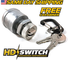 NEW Golf Cart Key Switch, 4 Terminal EZGO w/ factory light Ignition Replacement