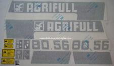Serie Decalcomania-Adesivi Per Trattore Agrifull 80.56..