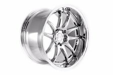 19x9.5/11 Aodhan DS02 5x114.3 +15 Vacuum Chrome Rims Fits 370z z34 (2009-2014)