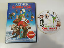 ARTHUR CHRISTMAS OPERACION REGALO DVD + EXTRAS JUSTIN BIEBER ESPAÑOL ENGLISH