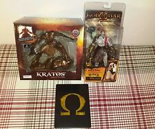 BRAND NEW GOD OF WAR ASCENSION COLLECTOR'S EDITION + BRONZE KRATOS STATUE