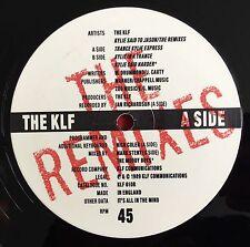 """THE KLF -Kylie Said To Jason- Rare UK REMIXES 12"""" (Jams/Jamms/Vinyl/Record)"""
