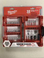 Milwaukee 48-32-4004 Shockwave Impact Duty Driver Bit Set 32-Pc