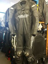 ARLEN NESS Kangaroo Titanium One Piece Motorcycle Leathers,  Eu 52 UK 42 VGC