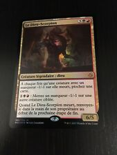 MTG MAGIC HOU THE SCORPION GOD (FRENCH LE DIEU SCORPION) NM FOIL