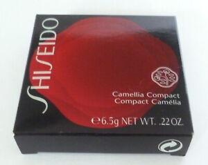 NIB SHISEIDO CAMELLIA COMPACT/ BLUSH- LIMITED EDITION 0.22 Oz