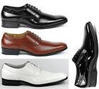 Delli Aldo Men's Lace Up Plain Oxford Dress Shoes w/ Leather lining M-19121
