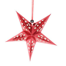 Láser Tridimensional Decoración Techo Barra de Estrella de Cinco Puntas Lámpara