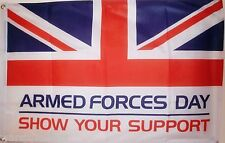ARMED FORCES DAY 3X2 FEET FLAG Charity ARMY RAF ROYAL NAVY AIR FORCE flags UK