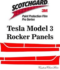 3M Scotchgard Paint Protection Film Pro Series Clear 2018 2019 Tesla Model 3