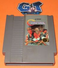 CONTRA Nintendo Video Game NES Cartridge: Cleaned/ Tested
