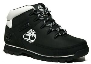 Timberland Women's Premium Leather Euro Sprint Hiking Boots Pink /  Black