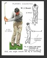 PLAYER - GOLF - #5 W J BRANCH