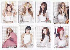 Korea K-POP KPOP Girls' Generation TAEYEON Tiffany HYOYEON Yoona YURI 8 card 156