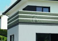 Sichtschutz, Windschutz, Balkonverkleidung, starkes PVC-Gewebe 0,9 x 3 m,  NEU