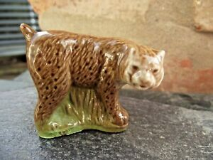 Vintage Wade Whimsies Whoppas Lynx Cat Bobcat