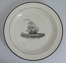 Early 19th Century creamware plate, Dixon, Austin & Co. Sunderland c1825