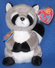 42ca861a818 TY RICKY the RACOON - 2.0 BEANIE BABY - MINT TAGS - UNUSED CODE
