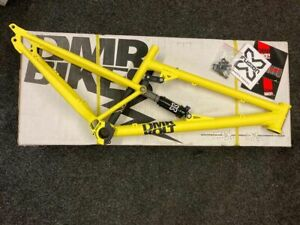 Dmr Bolt Mk3 yellow jump frame/short trail steel frame