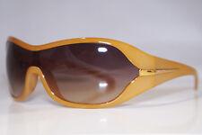 PRADA Womens Designer Sunglasses Brown Shield SPR 12G 777-6S1 13796