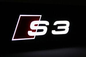 Original Audi A3 S3 8V Einstiegsleisten beleuchtet door Carbon optik 8V0071300A