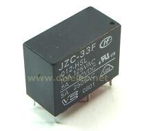 JZC-33F-012-HSL relé 12V - Hongfa