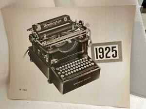 "Original 1925 Remington Electric Typewriter Factory 8""x10"" Photograph"