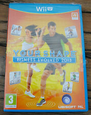 Jeu YOUR SHAPE FITNESS EVOLVED 2013 pour Nintendo Wii U PAL NEUF SOUS BLISTER !