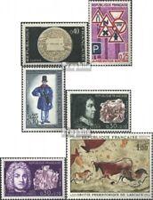 Frankreich 1609,1615,1616,1617-1618, 1619 (kompl.Ausg.) postfrisch 1968 Postsche