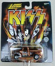 Johnny Lightning KISS Chrome Orange Truck