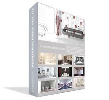 """Interior 3D Szenen """"ready to render"""" für  Cinema 4D / Vray"""
