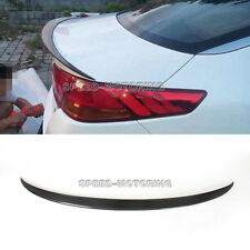 k5 Rear Trunk Lip Spoiler Wing Carbon Fiber Boot Kit for Kia Optima K5 Facelift