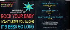 MAXI CD 3T MIAMI HOUSE ATTACK FEAT GEORGE MC RAE ROCK YOUR BABY