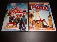 AVA'S MAGICAL ADVENTURE & ANNIE A ROYAL ADVENTURE-2 fun DVDs-PATRICK DEMPSEY