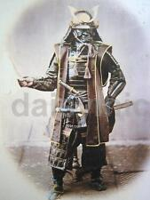Samurai Warrior Japan in Armour 6x4 Inch Reprint Photograph