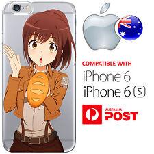 iPhone 6 6S Silicone Case Cover Attack On Titan Levi Eren Jaeger Sasha Potato