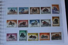 SAN MARINO 1962 complet set 15 francobolli TEMATICA : AUTO CARS WAGEN cod 572/86