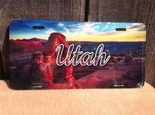 Utah Canyon Arch Scenic Skyline Novelty License Plate Bar Wall Decor