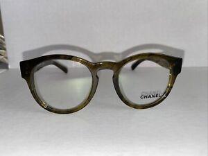 Chanel Eyeglasses 3346 1568 47 20 140. Olive turquoise NO CASE