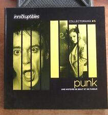 PUNK UNE HISTOIRE DE BRUIT ET DE FUREUR - LES INROCKUPTIBLES - LIVRE + 2 CD