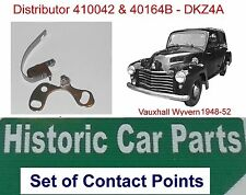 Vauxhall Wyvern 1948-52 - Set of Contact Points for Distributors 410042 & 40164