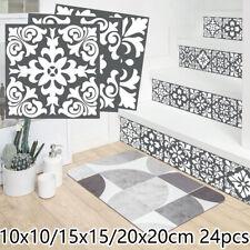 24x Mosaïque Carrelage Mural Stickers Adhésif Cuisine Mural Autocollant Salle