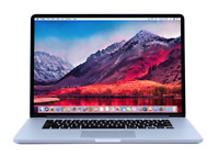 15 MacBook Pro Certified Refurbished | SSD 512GB | 2.6Ghz QUAD CORE i7 | RETINA