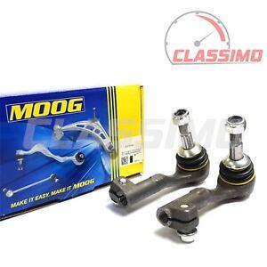 Moog Track Tie Rod End Pair for BMW 3 Series E90 E91 E92 E93 - all RWD models