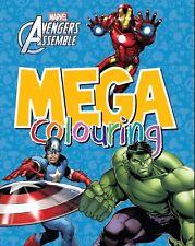 Licensed Marvel:Avengers Assemble/ Super Heroes Mega Colouring Book