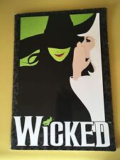 WICKED The Musical - Official Broadway Touring Souvenir Program 2011 Menzel