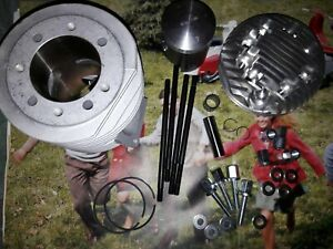 BGM Racetour 225 Lambretta Cylinder Kit Li SX TV GP FREE POSTAGE In Stock NEW